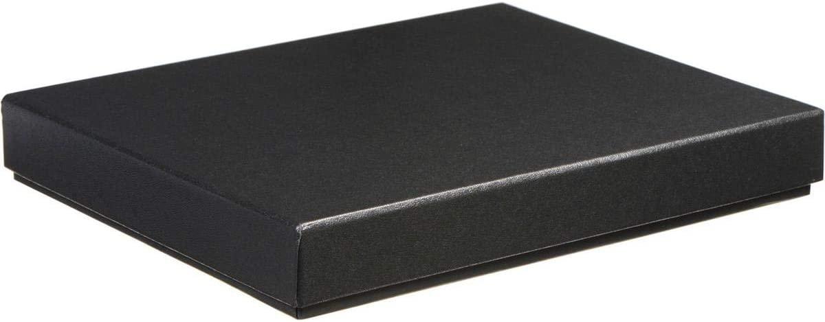 Archival Methods Black Proof Box, Size 8-3/4x11-3/8x1-3/8, Color: Black