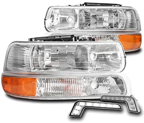 ZMAUTOPARTS Replacement Headlights Headlamp w/6.25