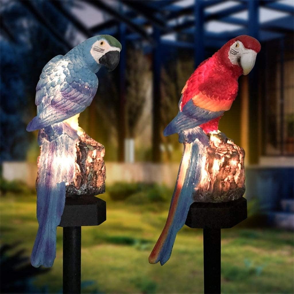 Solar Light Parrot (Blue)