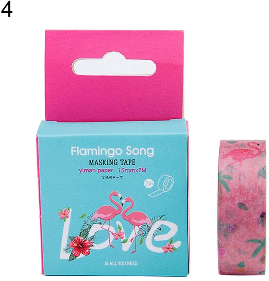 yanbirdfx Masking Tape, Watercolor Paper Washi Tape Album Diary Decorative Scrapbook Craft Kids DIY Art Supplies, Home Decoration, Office Supplies 4#