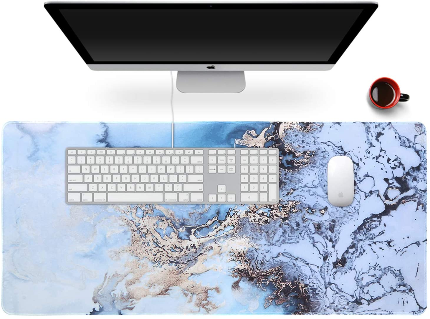 Anyshock Desk Mat, Extended Gaming Mouse Pad 35.4