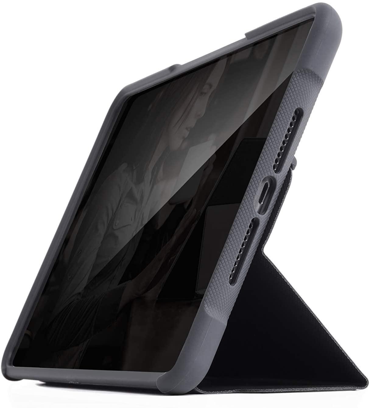 STM Dux Case for Ipad Mini 5th Gen/Mini 4 Case 2019 Black (STM-222-160GY-01)