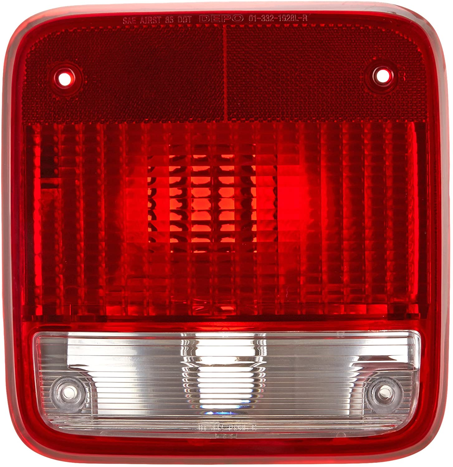 DEPO 332-1928L-US Replacement Driver Side Tail Light Assembly (This product is an aftermarket product. It is not created or sold by the OE car company)