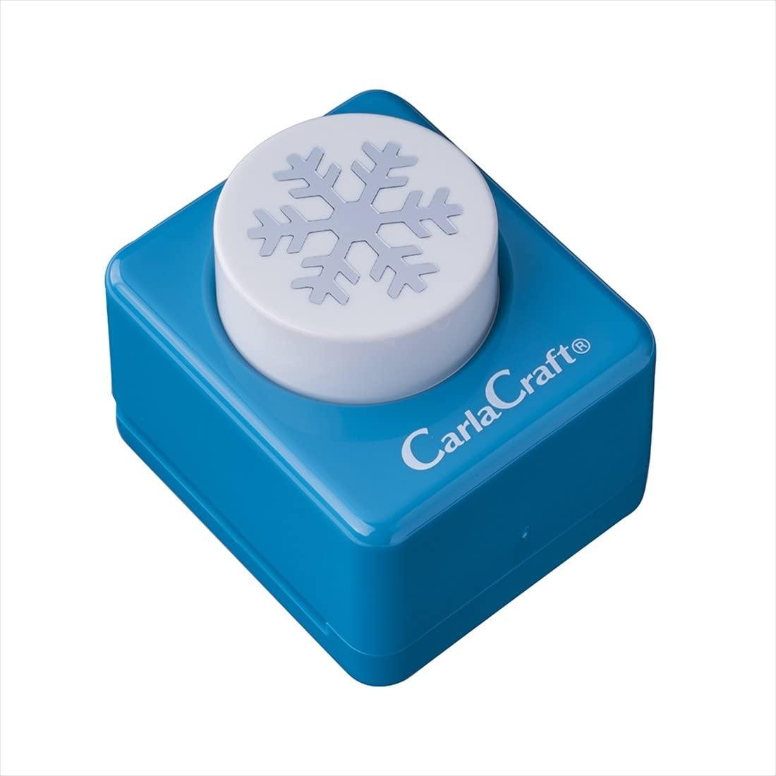 Carl Craft Craft Paper Punch, Snow (CP-2 Snow B)