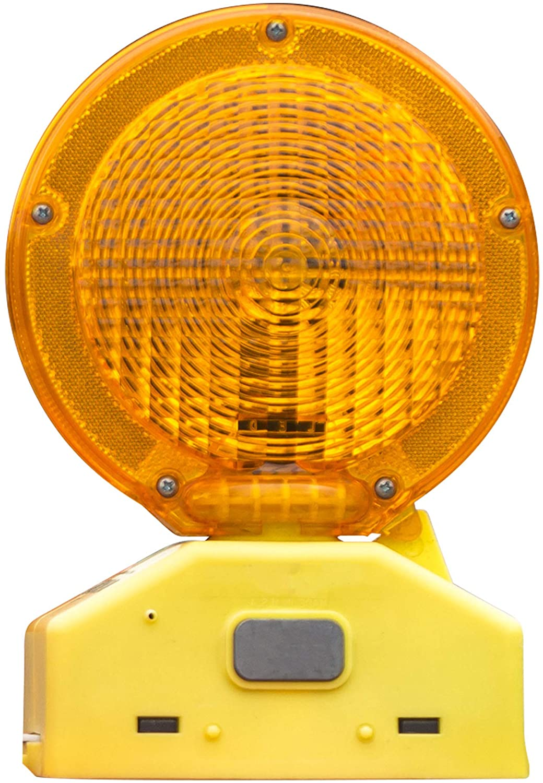 Roadsafe Traffic Systems Y2K LED Barricade Warning Light, High Performance, Heavy Duty