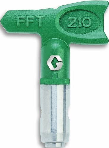 Graco FFT414 RAC X Reversible Tip for Airless Paint Spray Guns with 0.014-Inch Diameter and 8-Inch Fan