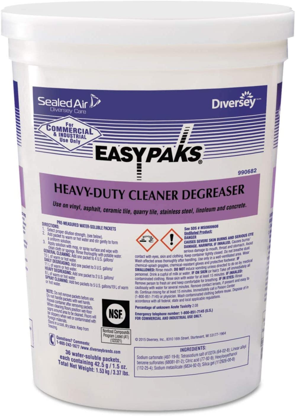 Cleaner Degreaser, Size 1.5 oz, PK2