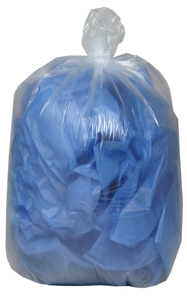 AEP 434730C Clear X Heavy Duty Can Liner, 56 Gallon, 1.2 ml (Pack of 100)
