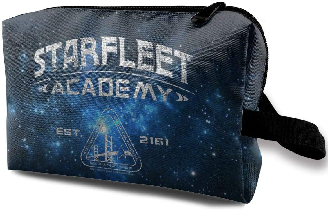 Aosepangpi Starfleet Academy Toiletry Bag Storage Bags for Travel Home