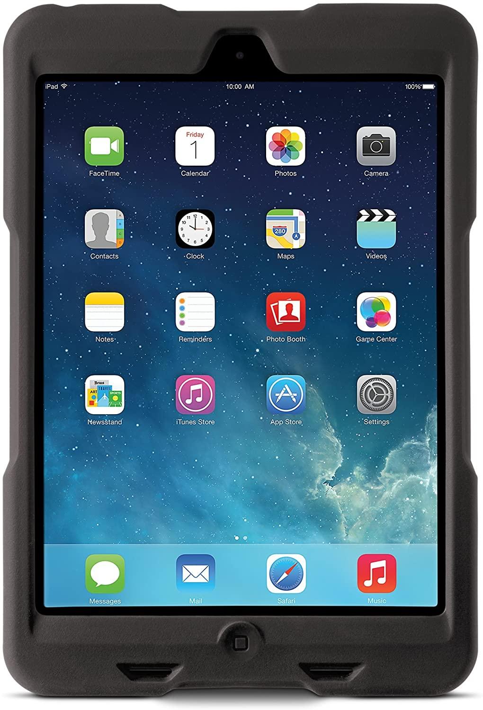 Kensington BlackBelt 1st Degree Rugged Case for iPad Mini and iPad mini 2 - Black (K97072WW)
