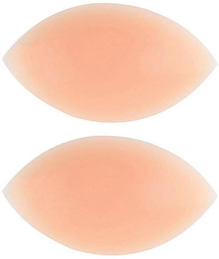 (3 Pair) Women's Silicone Bra Pad, Push Height Enhancer, Bikini Invisible Thickening, Detachable Breast Underwear Insert Sheet,3,One Size