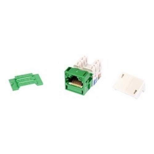 Commscope MPS100E 1-Port Cat-5E UTP Information Outlet (Pack of 11) (Green)