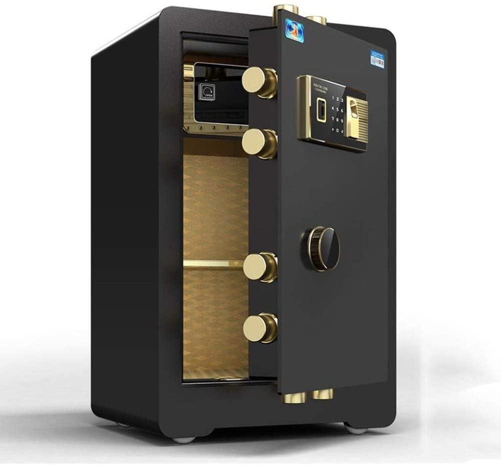 ZBY Safe Boxs Safe Box Digital Safe,Electronic Safe, Cash Box, Home Safe, Anti-Theft Invisible Safe All Steel Wall Safe Commercial Fingerprint Safe (Size, 41 X 35 X 61Cm),41X35X61Cm