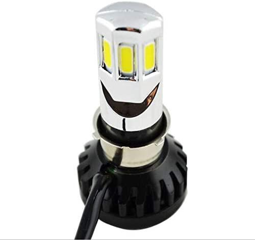 2x Motorcycle LED Headlight Bulb H4 Hi/Lo Beam HeadLamp for Harley