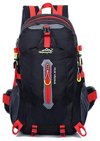 Bblll HUWJIANFENG 40L Motorcycle Backpack Multifunctional Helmet Bag Motorcycle Racing Bag Package Car Backpack Outdoor Sport Backpack