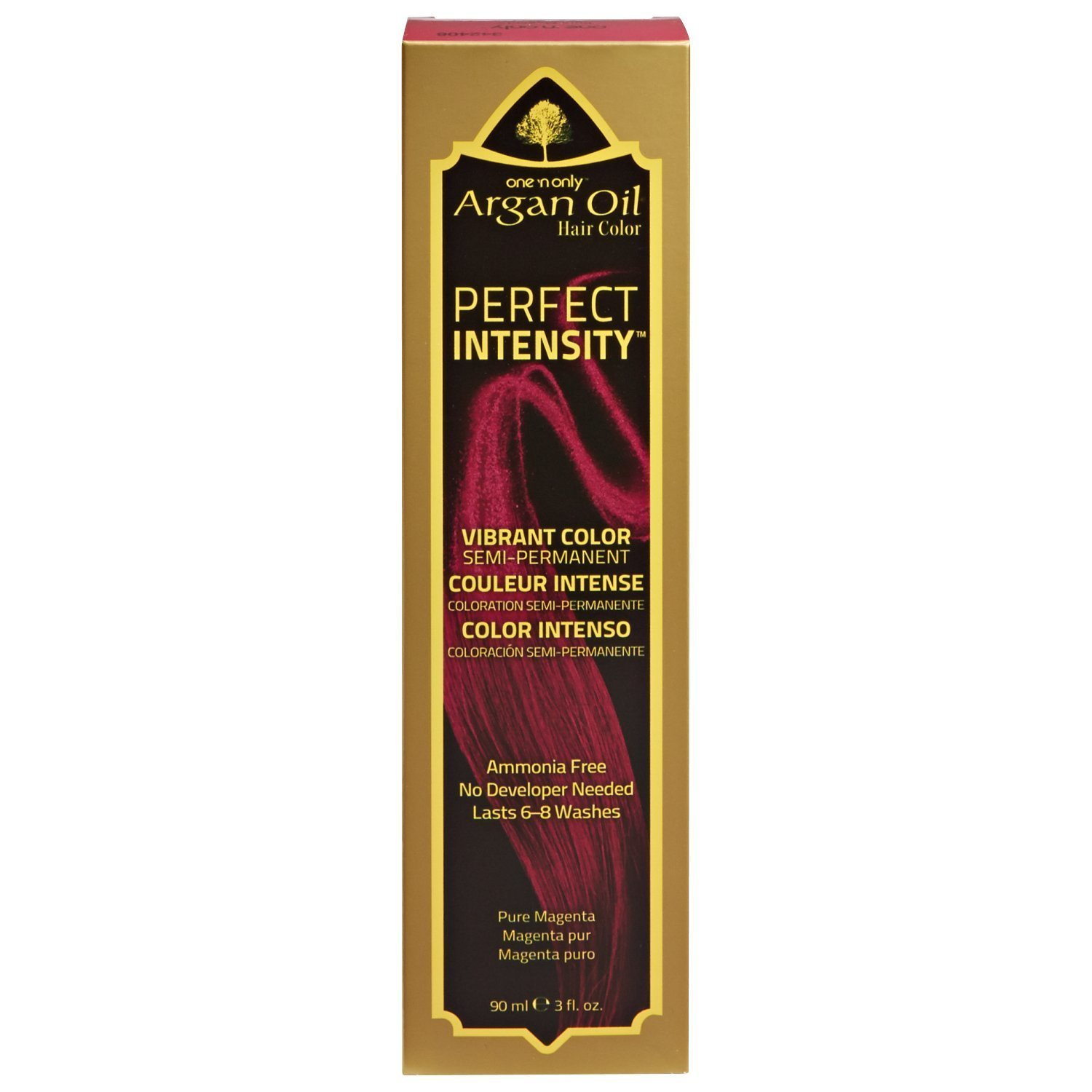 One 'n Only Perfect Intensity Pure Magenta Semi Permanent Hair Color Pure Magenta