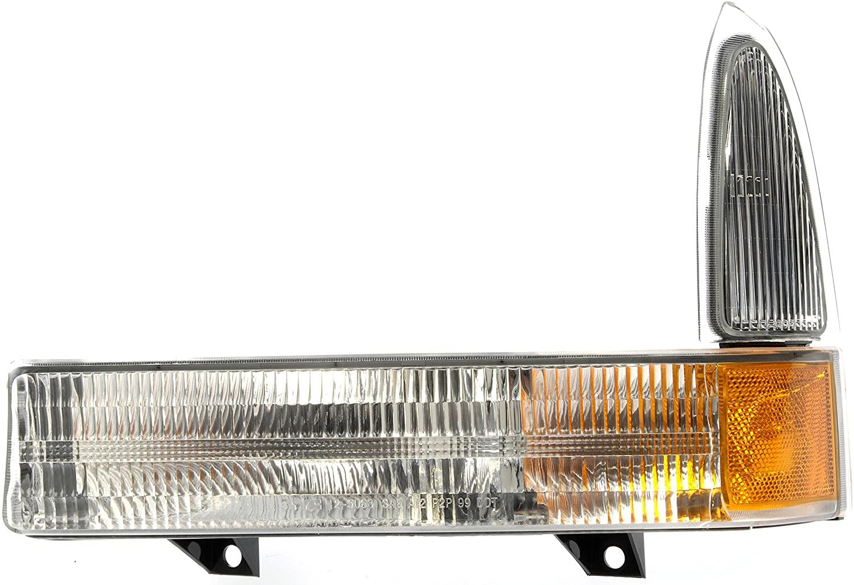 Dorman 1650794 Front Driver Side Turn Signal / Parking Light Assembly for Select Ford Models