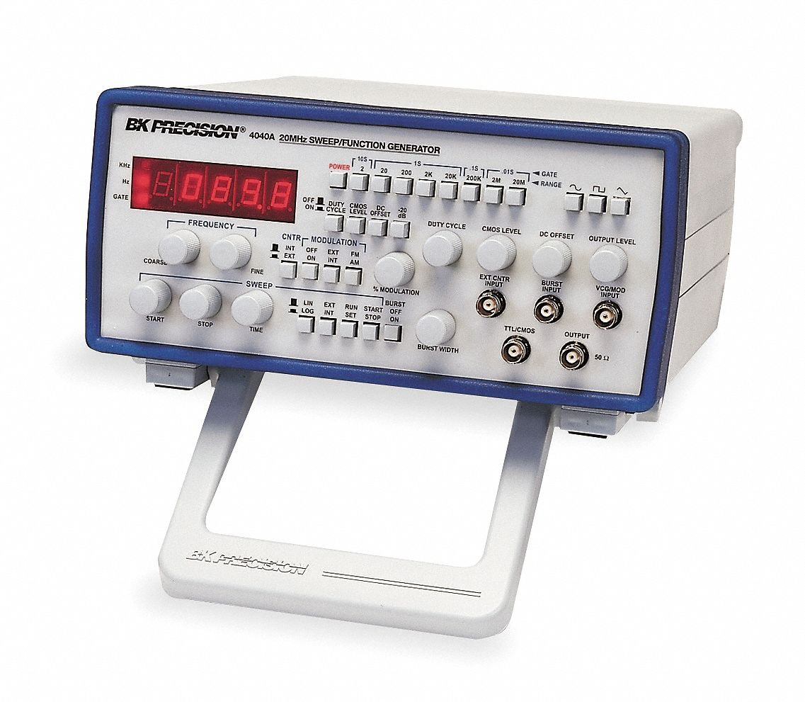 B&K Precision 4040A Sweep Function Generator, 0.2 Hz to 20 MHz Frequency Range