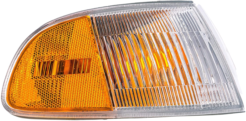 Dorman 1630817 Front Passenger Side Turn Signal / Parking Light Assembly for Select Honda Models