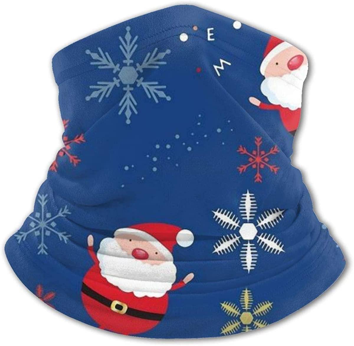 Santa Claus Headwear For Girls And Boys, Head Wrap, Neck Gaiter, Headband, Tenn Fishing Mask, Magic Scarf, Tube Mask, Face Bandana Mask For Camping Running Cycling