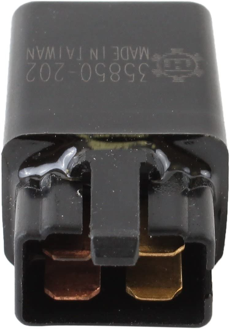 Rareelectrical NEW 4 PRONG RELAY COMPATIBLE WITH HONDA MOTORCYCLE VTX1800S3 VTX1800T1 VTX1800R 38501GN2014