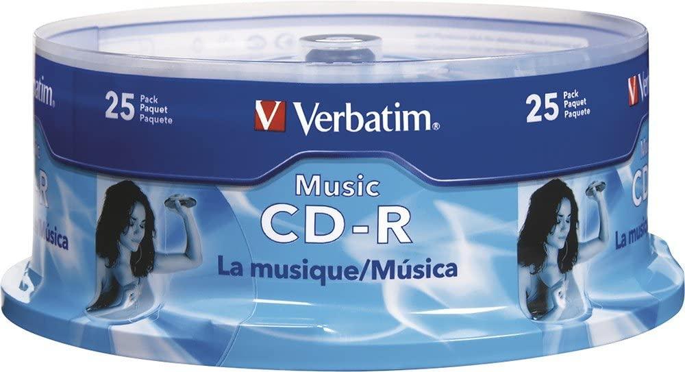 Verbatim VER96155 - CD-R, 40X, 700MB/80Min, 25/PK