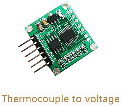 BELONG Thermocouple to Voltage Transmitter Module 0-5V 0-10V K type linear temperature conversion Board Two output Voltage SC08
