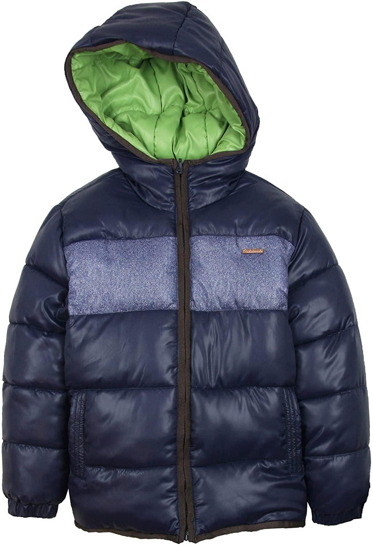 Mayoral Junior Boy's Reversible Puffer Coat, Sizes 8-16