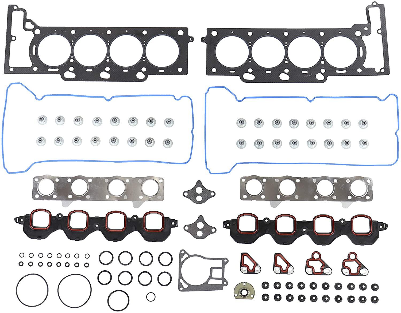 DNJ HGS3154 Graphite Head Gasket Set/For 1995-1999/ Cadillac/DeVille, Eldorado, Seville/ 4.6L/ DOHC/ V8/ 32V/ 281cid/ VIN 9, VIN Y