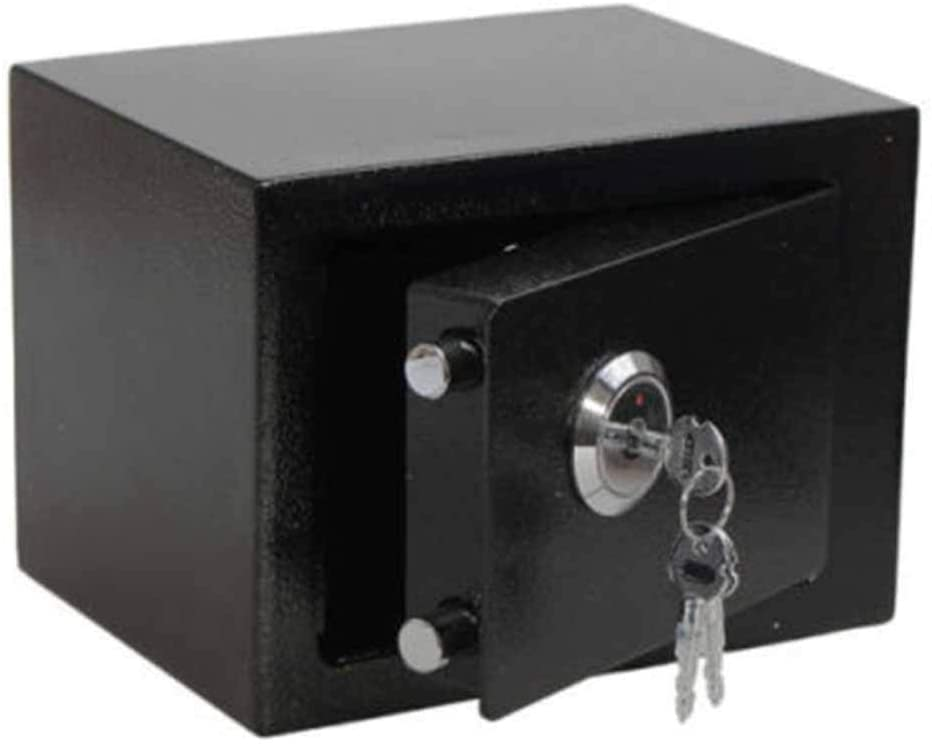 Yxian Mini Safe Lock Furniture safes Weapon safes Furniture Safe Wall Safe Wall Safe Safe Safe Safe Safety Cabinet with 3 Keys,B
