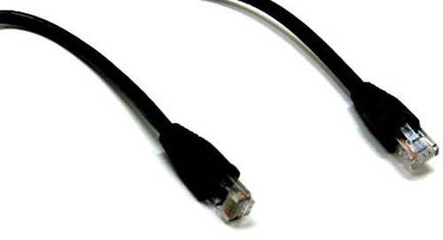 BattleBorn 10 Foot Network Ethernet Cable Cord UTP Cat5e Patch LAN RJ45 Cat5 - Black