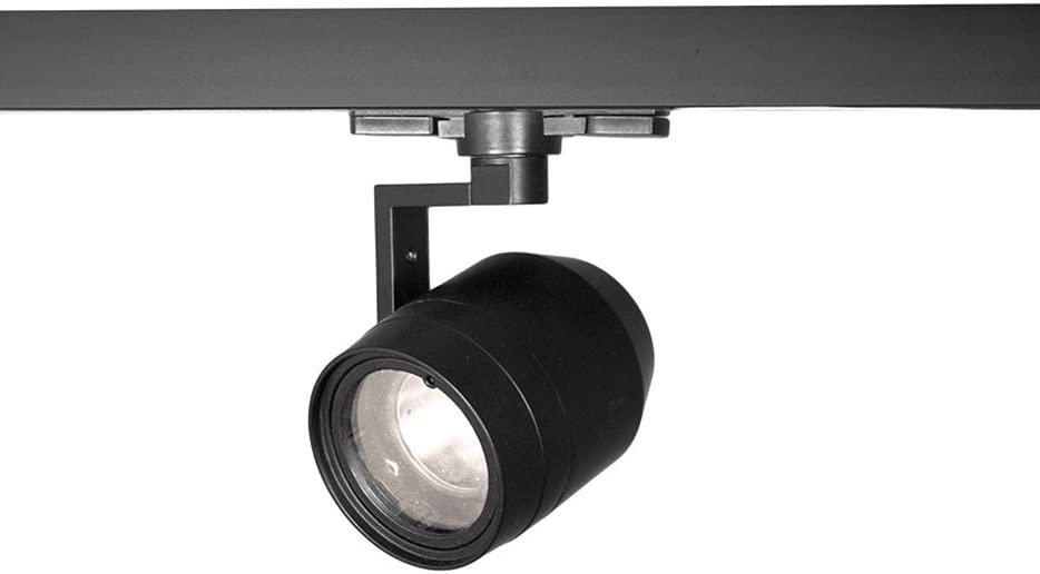 WAC Lighting WHK-LED522F-40-BK 23W LED Paloma Track Head for 277V W Track, Flood, 4000K