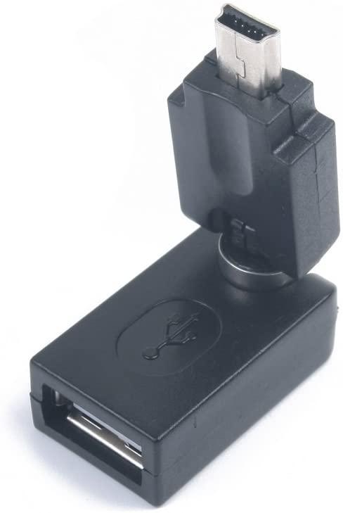 USB 2.0 A Female to OTG Mini 5 Pin USB Adapter