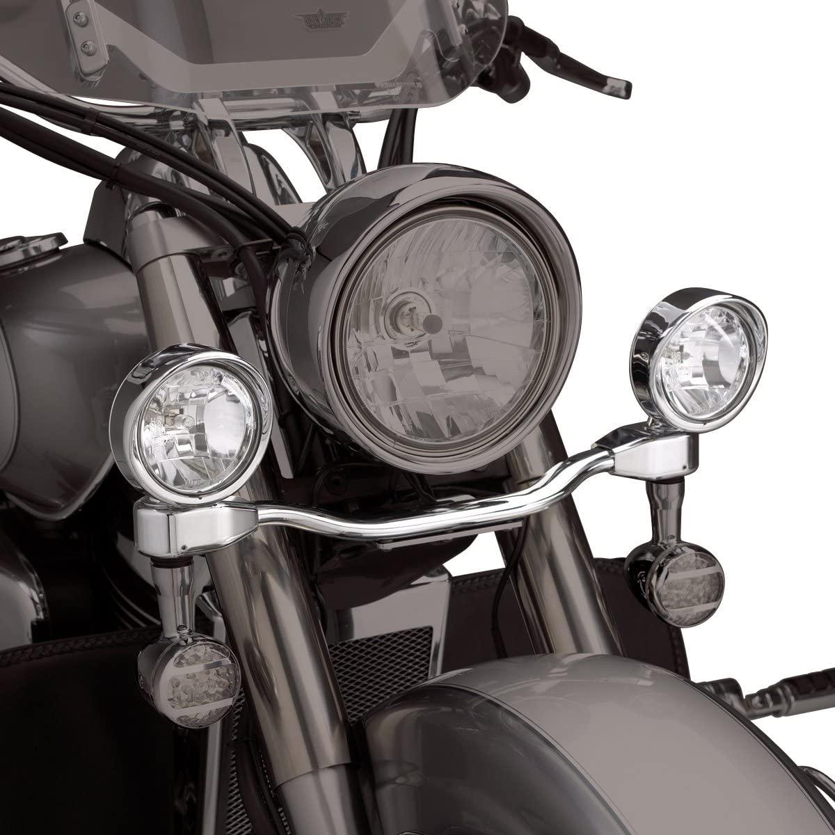 Show Chrome Accessories 55-332 Elliptical Driving Light Bar Kit