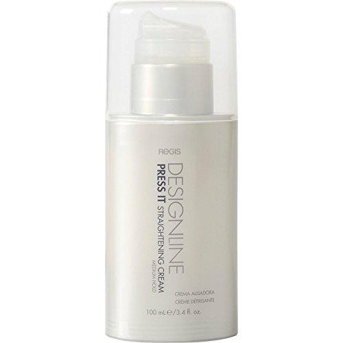 Press It Straightening Cream, 3.4 oz - Regis DESIGNLINE - Medium Hold Heat Protectant Hair Straightener Cream (3.4 oz)