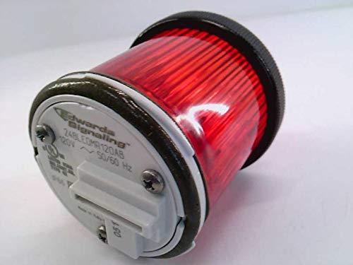 EDWARDS 248LEDMR120AB STACKLIGHT, 120VAC, Multi Mode Module, 48MM, with Black Ring, RED LED, 50/60HZ