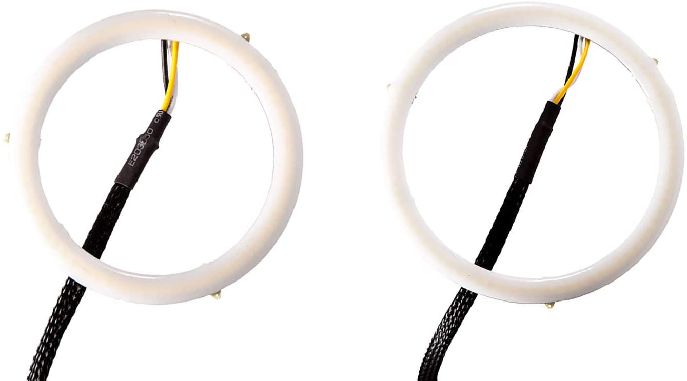 Diode Dynamics DD2152 Halo Lights LED 80mm/100mm White Pair