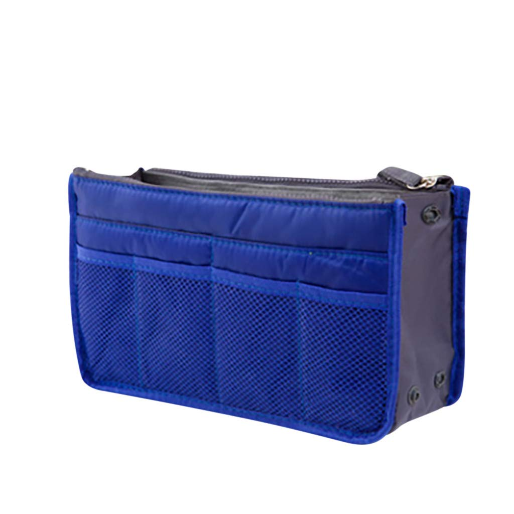 DEESEE(TM) Handbag Organiser Travel Insert Purse Large Liner Organizer Tidy Bag (J)