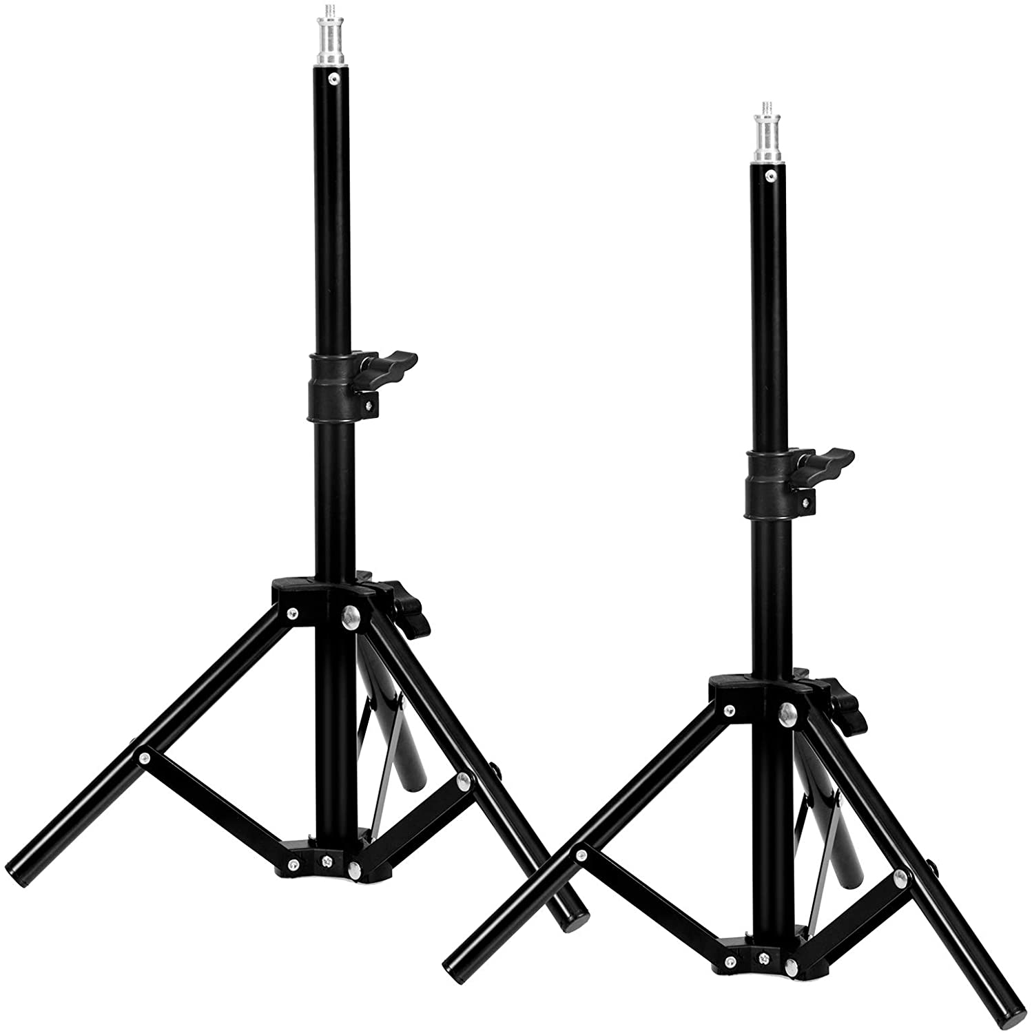 Selens Table Top Light Stand Photography 27.5Inch/70 cm Mini Tripod for Ring Light Speedlight Camera Dolly Video Recording Photo Studio Lighting,2 Pack