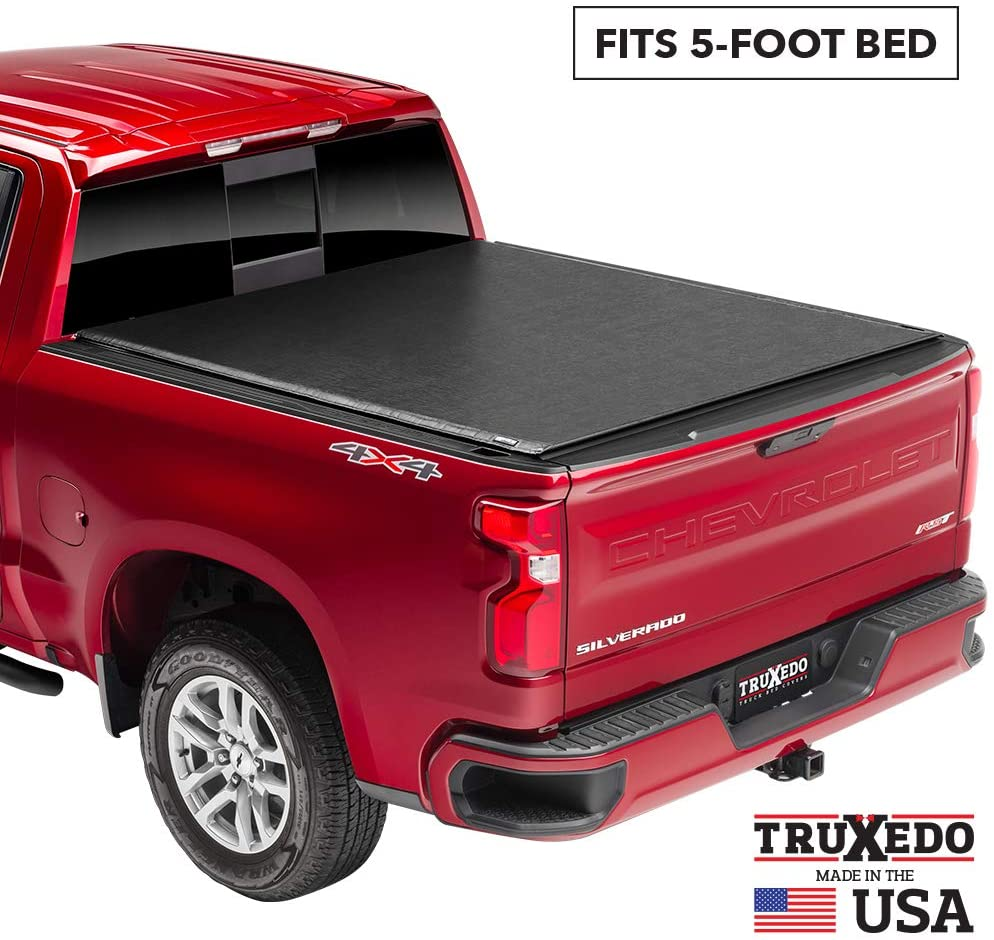 TruXedo Deuce Hybrid Truck Bed Tonneau Cover | 731001 | fits 2019-20 Ford Ranger 5' bed