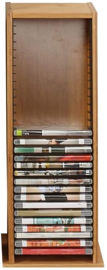 Cd Holder DVD Storage Rack Disc Holder Ps4 Game Disc Organizer Vinyl Disc Holder Bamboo Material Multiple Sizes, B-T, PS4