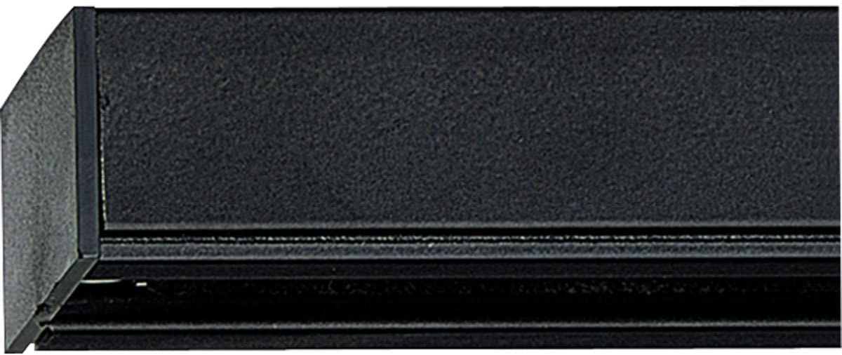 Progress Lighting P9104-31 Traditional Trak 4` Section from Track Accessories Collection in Black Finish, 48.00 inches, 48-Inch Width x 7/8-Inch Height