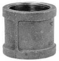 Anvil Coupling Galvanized, Malleable 1/2