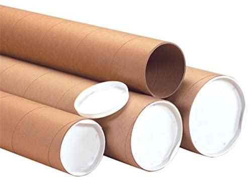 The Boxery Brown Shipping Mailing Tubes 2x36'' 50/cs