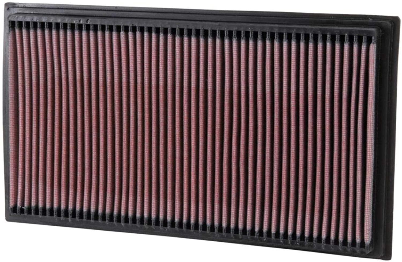 K&N Engine Air Filter: High Performance, Premium, Washable, Replacement Filter: 1995-2003 MERCEDES (CLK430, CLK55 AMG, E200 Kompressor, E55, E220, E240, E250, E280, E290, E300, E320, E430), 33-2747