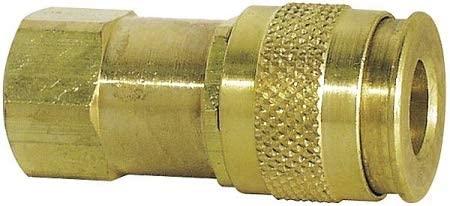 Brass Universal Quick Coupler Body - 5ZVK2, (Pack of 2)