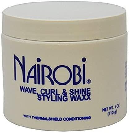 Nairobi Wave, Curl and Shine Styling Wax, 4.0 Ounce by Nairobi