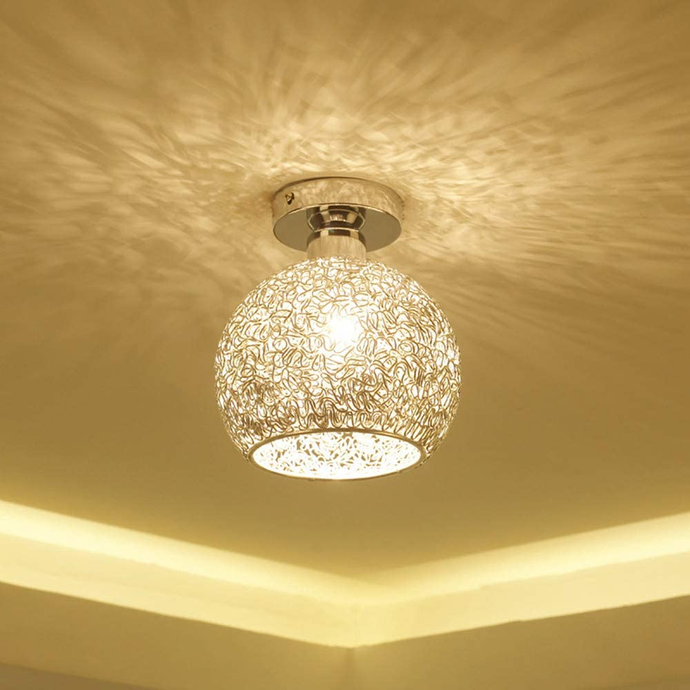Modern Ceiling Lighting, Flush Mount Light Fixture for Bathroom Entryway Living Room Bedroom Kitchen Sink & Fast Shipped from US Warehouse