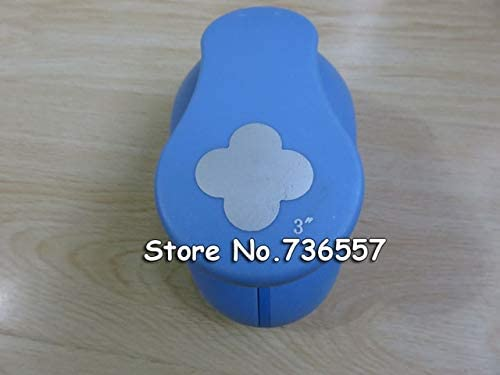 Clips Large Size 8cm Flowers Shaper Hole Punch Craft Scrapbooking Paper Puncher Craft Punch DIY Children Toys - (Color: Army Green)