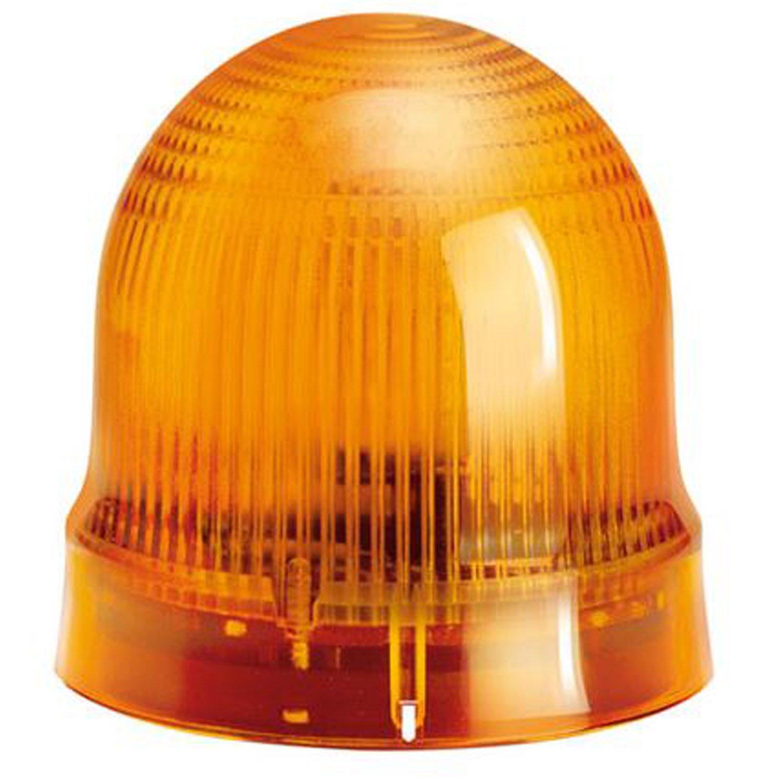 ASI 8LB6EL1 Steady Signal Beacon Light Module, Screw Clamp Connections, IP54, 62 mm, Orange